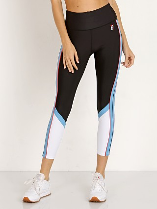 PE NATION The Backboard Legging Black/Sky/White