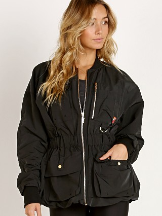 PE NATION The Streamline Jacket Black