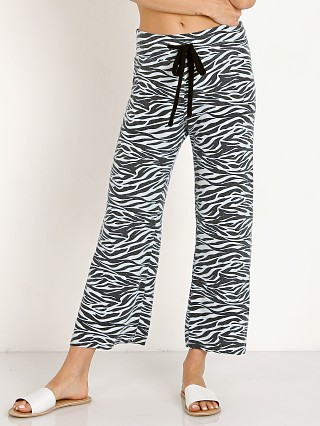 LNA Clothing Brushed Zebra Wide Leg Sweat Pant