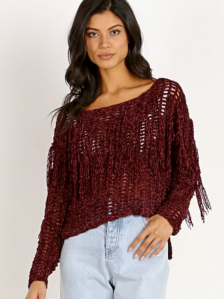 Sage the Label Cecilia Sweater Wine