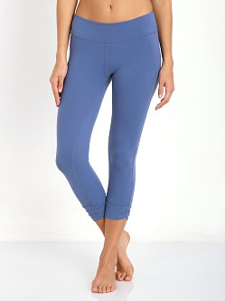 Beyond Yoga Essential Gathered Legging Twilight