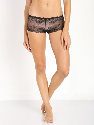 Only Hearts So Fine With Lace Hipster Black