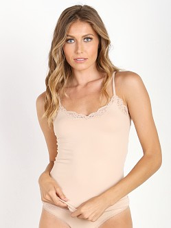 Only Hearts Delicious with Lace V-Neck Cami Parchment