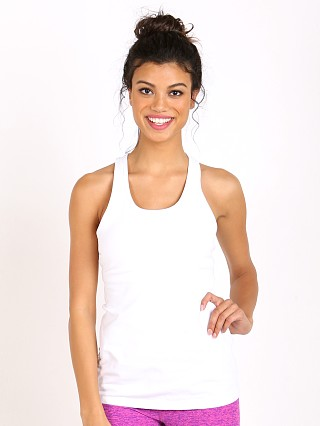 Beyond Yoga Classic Racer Back Cami White