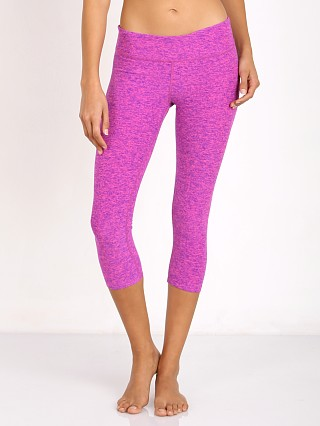 Beyond Yoga Spacedye Capri Legging Static Pink/Violet