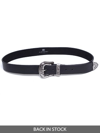 B-Low The Belt Frank Belt Black/Silver