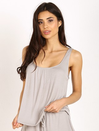 Eberjey Hailey Shelf Bra Cami Cloud Grey