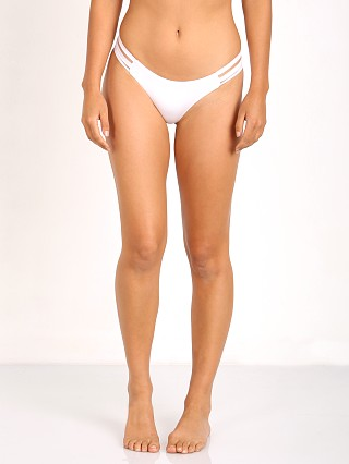 Beach Bunny Sheer Addiction Tango Bikini Bottom White