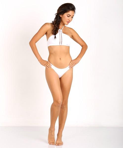 4a24eda4b96 Beach Bunny Sheer Addiction Tango Bikini Bottom White B16125B4 - Free  Shipping at Largo Drive