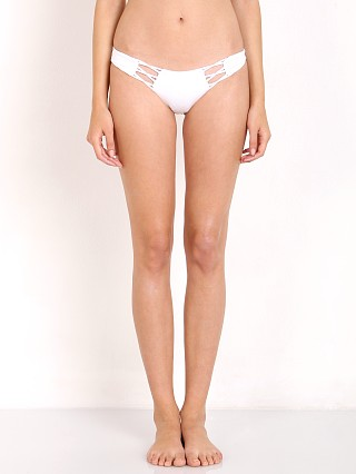 Complete the look: Beach Bunny Bunny Basics Bikini Bottom White
