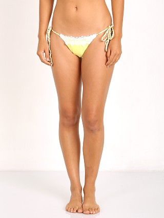 Beach Bunny Flamenca Skimpy Tie Side Yellow