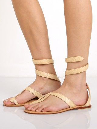 Cocobelle L Space Snake Wrap Sandals Taupe