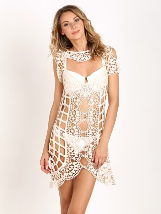 For Love & Lemons Barcelona Cover Up Ivory