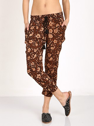 Amuse Society Tash Pant Black Sands Print