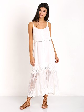 Somedays Lovin Marlowe Midi Kimono Dress Off White