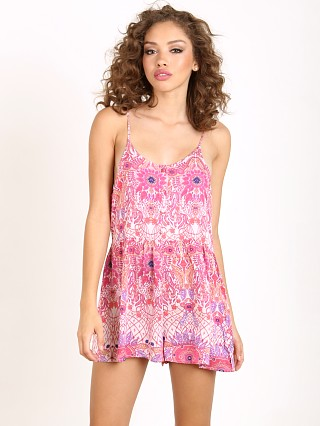 Somedays Lovin Paisley Heat Playsuit Pink