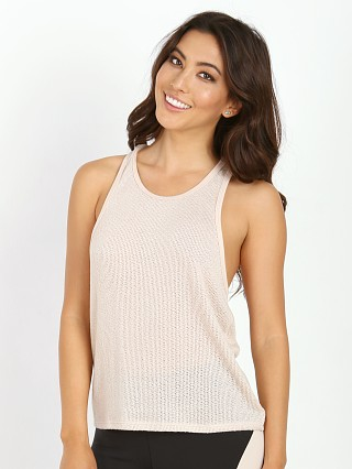 SOLOW Plush Knit Tank Blush