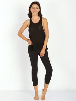 SOLOW Plush Knit Tank Black