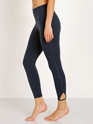 Beyond Yoga Slip Open High Waisted Capri Legging Nocturnal Navy