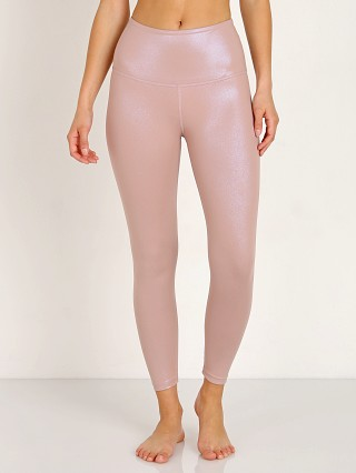 Beyond Yoga Pearlized High Waisted Midi Legging Brazen Blush