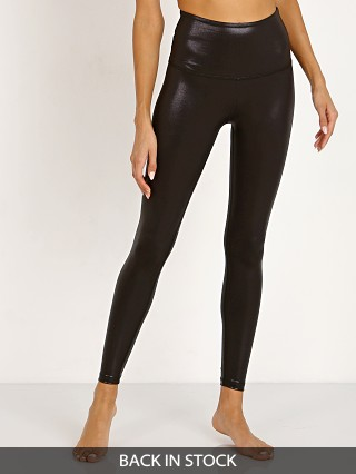 Beyond Yoga Pearlized High Waisted Midi Legging Black