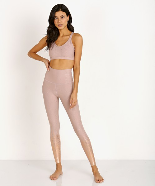cf4c186bbf5d8 Beyond Yoga Alloy Ombre High Waisted Midi Legging Brazen Blush SF3243 - Free  Shipping at Largo Drive