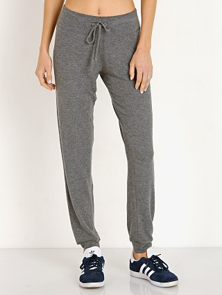 Beyond Yoga Lounge Around Midi Jogger Mid Heather Gray