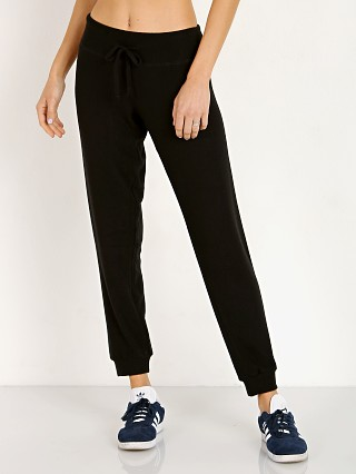 Beyond Yoga Lounge Around Midi Jogger Black