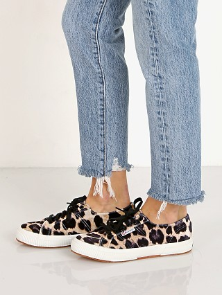 You may also like: Superga 2750 FANVELVETW Sneaker Leopard