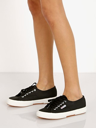 Superga 2750-COTW Sneaker Black White