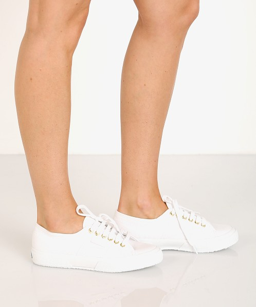 Superga 2750-COTW Sneaker White-Gold
