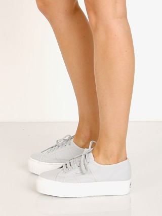 Superga 2790ACOTW LINEA UP AND DOWN Sneaker Grey Ash