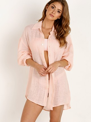 Vitamin A Playa Shirt Dress Perla Rosa