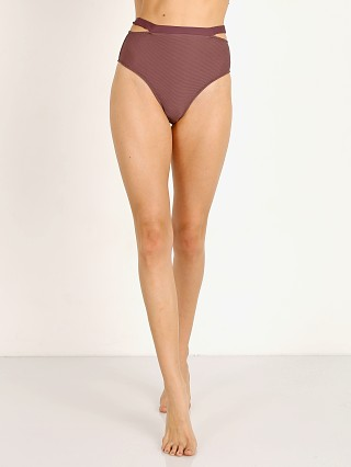 Vitamin A BioRib Coco Highwaisted Bikini Bottom Sultana Rib