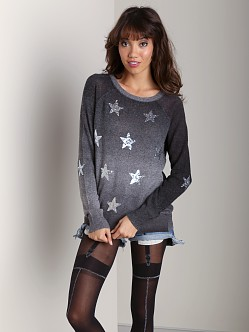 Wildfox Couture Stargazer Party Sweater Clean Black