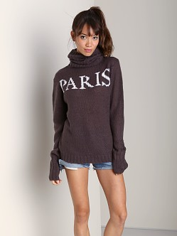 Wildfox Couture Paris Is Home Seattle Sweater NYC