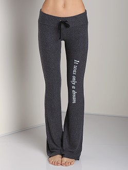 Wildfox Couture It Was Only A Dream Tennis Club Pant Clean Black