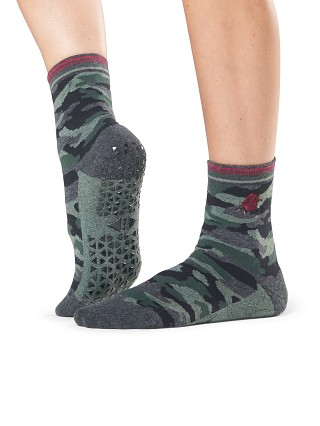 ToeSox Tavi Noir Jess Barre Socks Fierce