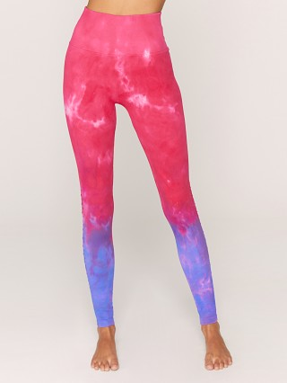 Spiritual Gangster Self Love Legging Watermelon Purple Tie Dye
