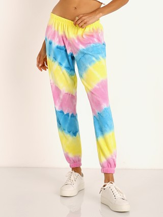 Spiritual Gangster Perfect Sweatpant Highlighter Tie Dye