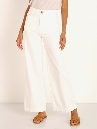 Complete the look: Rollas Sailor Ramie Pant Vintage White