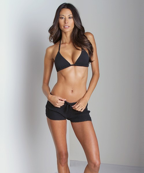 Lisa Maree In Side Out Short Black