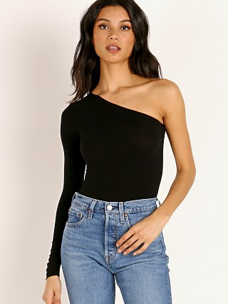 Commando Ballet One Shoulder Longsleeve Bodysuit