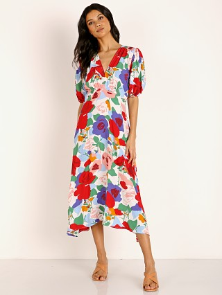 Faithfull the Brand Vittoria Midi Dress Anita Floral Print