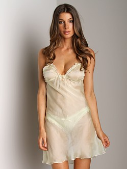 Undrest Chiffon Nightie Honeydew