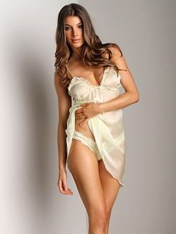 Undrest Chiffon Brief Honeydew