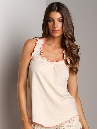 Complete the look: Undrest Signature Racer Camisole Natural/Watermelon