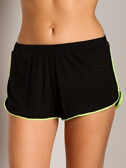 Top Secret Bright Side Boyshort Black