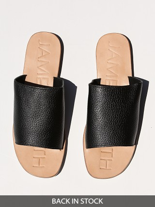 James Smith Off Duty Slide Black/Natural