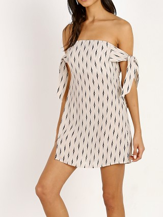 Model in diamond Beach Riot Jilly Dress
